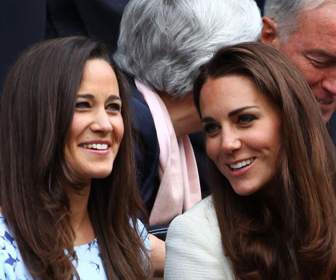 **Family first:** Catherine's bond with her younger sister Pippa is truly inspiring.