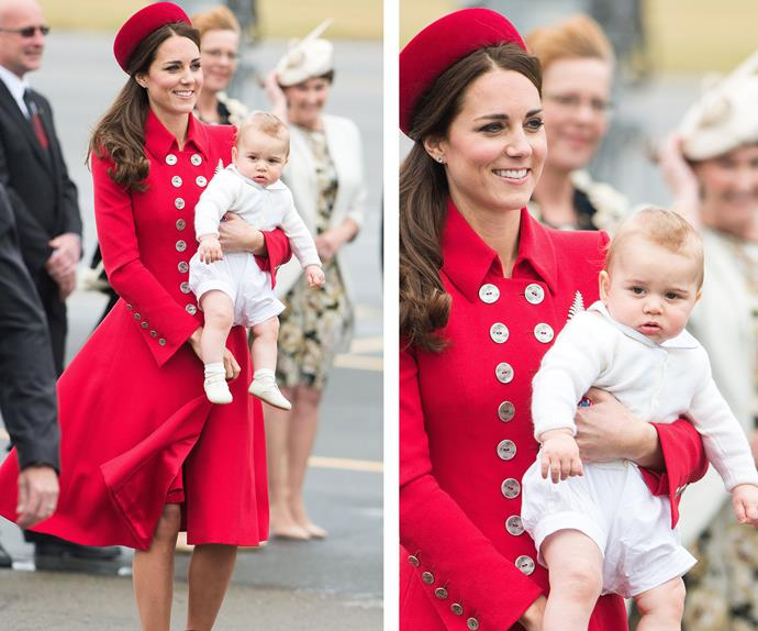 "**Gorgeous George:** How could we ever forget that she's the mother to one of the most adorable human beings on the face of the earth, [Prince George](https://www.nowtolove.com.au/tags/prince-george|target=""_blank"")"