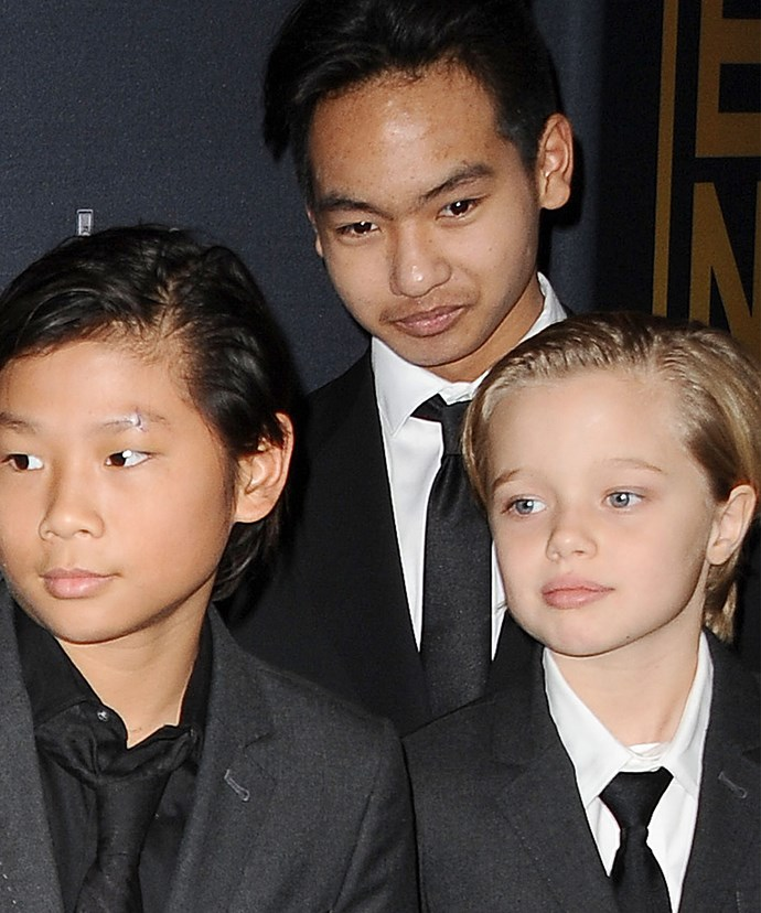 Pax, Shiloh and Maddox have all worked with their mum on films.