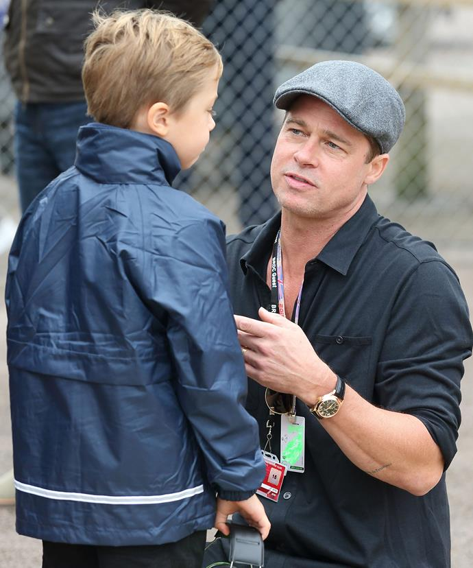 Could Knox grow up to be just like Dad?