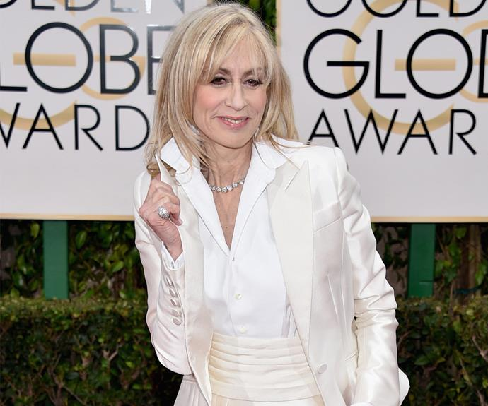 Judith Light opted for a timeless white power suit.