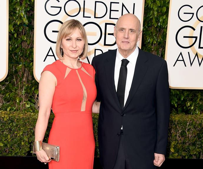 Jeffrey Tambor, who has been nominated for Best Actor in a Television Series thanks to his role in *Transparent*, was joined by his wife Kasia Ostlun.