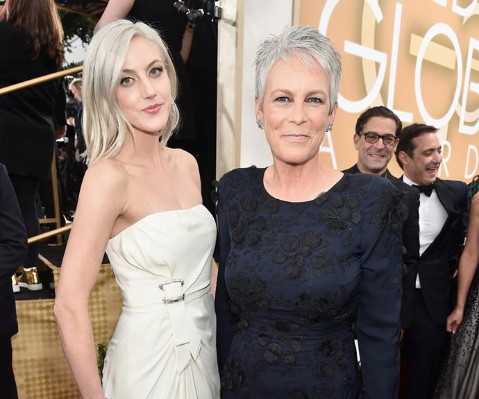 Mother-daughter team Jamie Lee Curtis and Annie Guest looked gorgeous.