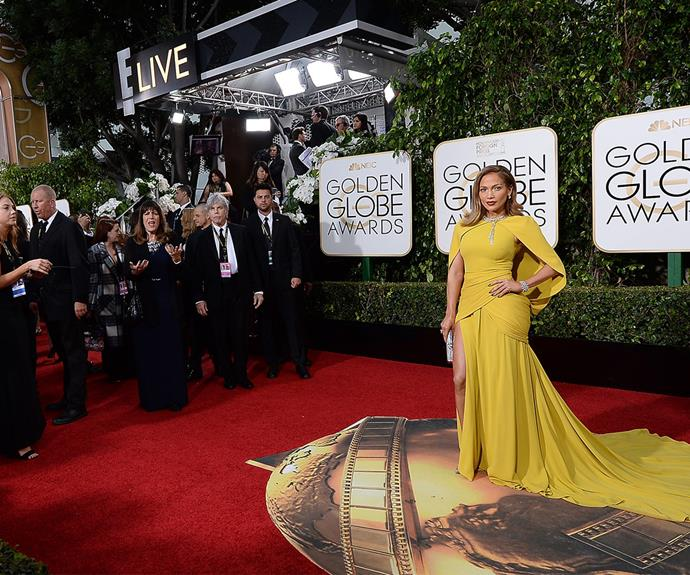 Commanding their attention! When Jennifer Lopez walks into an event, THIS is how she does it.