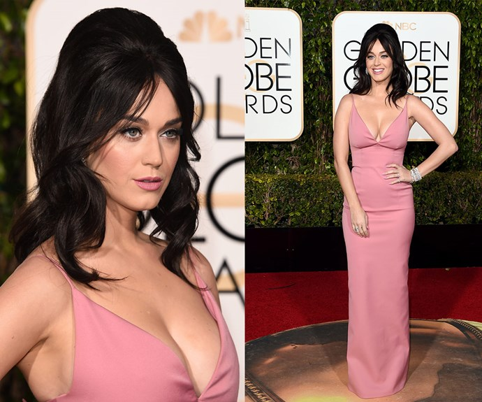 The bigger the hair the better, right Katy Perry?