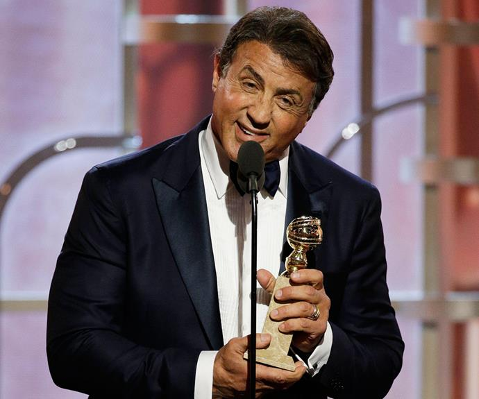 Industry legend Sylvester Stallone won Best Supporting Actor in a Motion Picture for *Creed*.