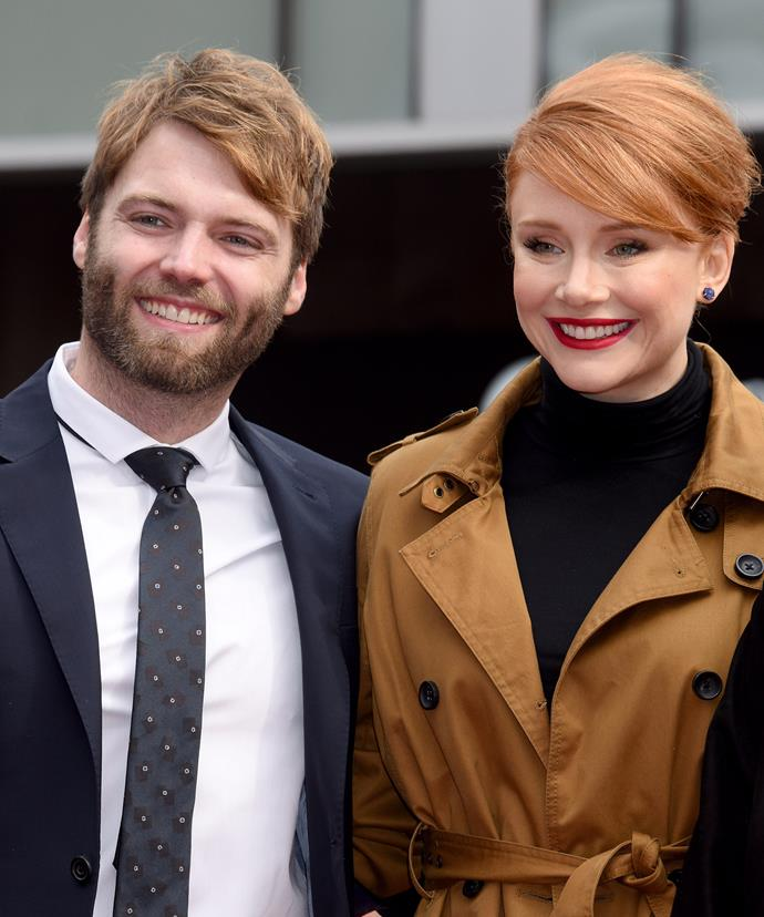 Her biggest fan! Bryce's husband Seth Gabel took to Twitter to praise how incredible his wife looked at the Golden Globes.