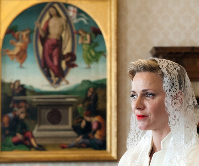 """""""Catholicism is the state religion [in Monaco]. But for me, it represents much more. The values of this religion profoundly touch me and correspond perfectly to my spirit,"""" she has said."""