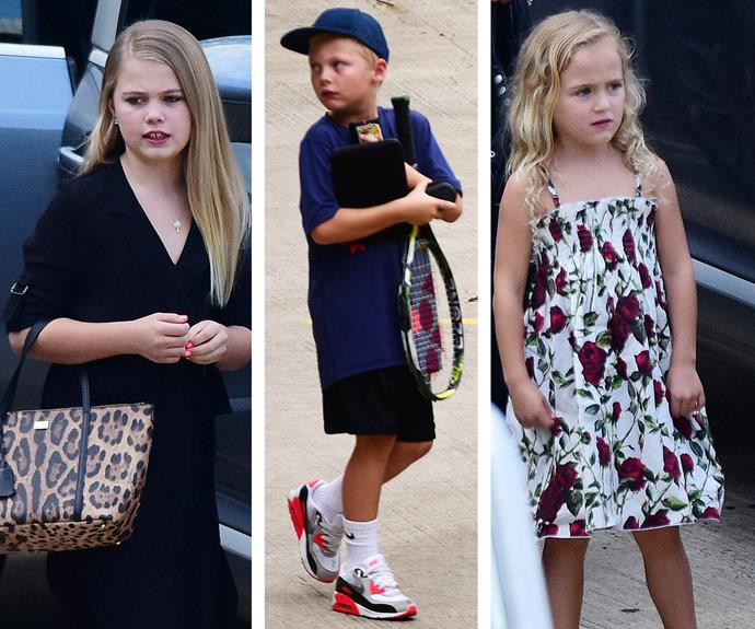 Bec and Lleyton Hewitt's kids Mia, Cruz and Ava are growing up in front of our eyes and they've inherited so many of their parents' features.