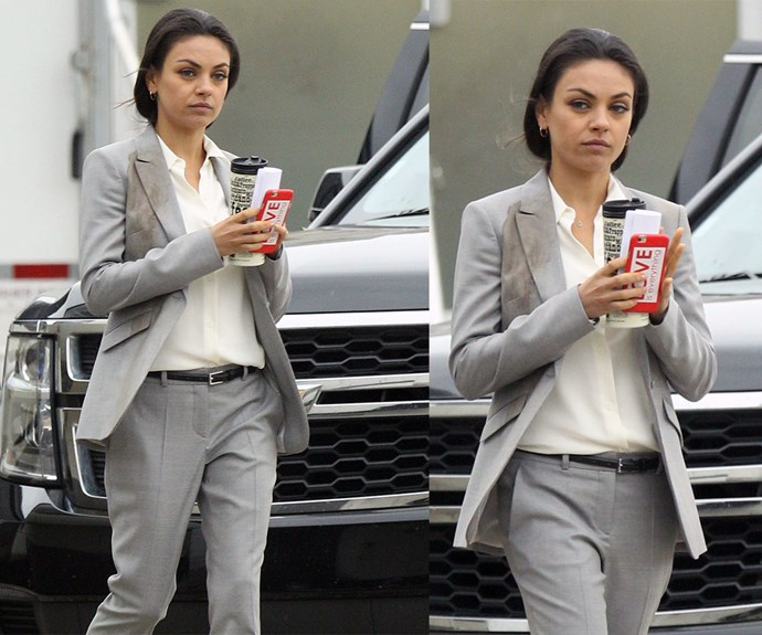 Mila's new movie is set for release in August and stars Kristen Bell and Jada Pinkett Smith.