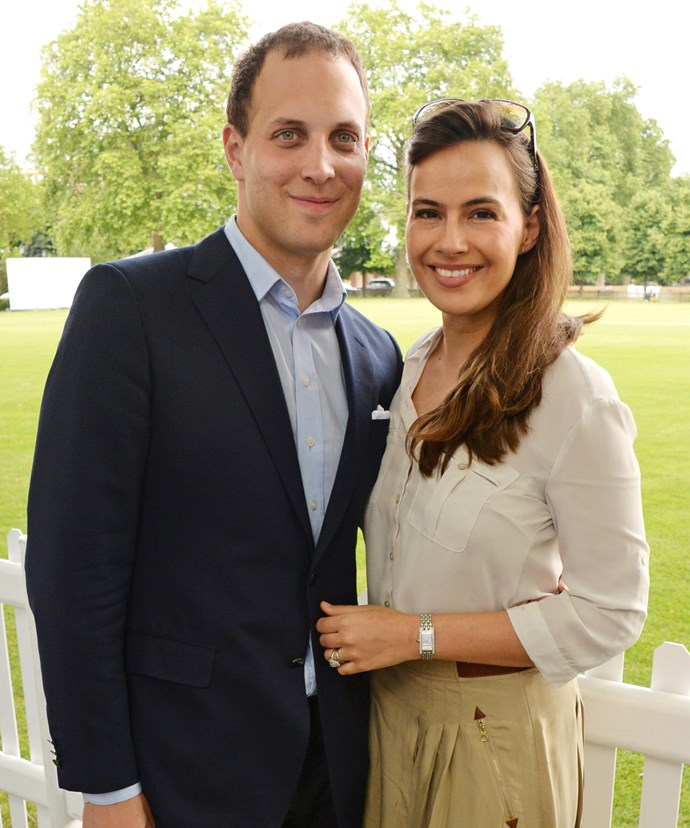 The couple is based in the US, but moved back to London for the birth of their second daughter.