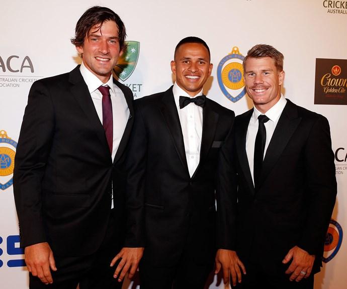 Aussie cricket stars Joe Burns, Usman Khawaja and David Warner go at it alone!