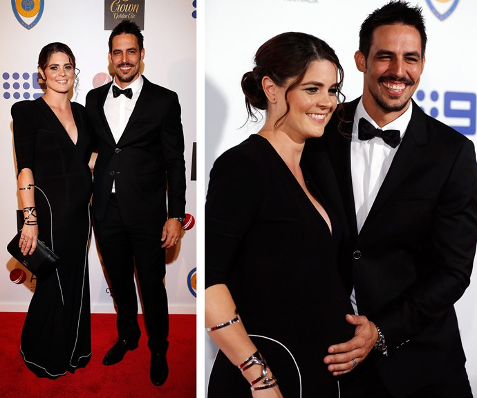 Mitchell Johnson decided to bring a plus TWO! The cricketing great, who retired last year, announced that he and wife Jessica Bratich-Johnson are expecting a baby.