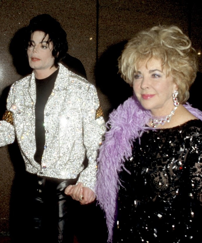 Michael, who passed away in 2009 age 50, and Liz were best friends.