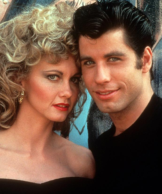 John, seen here with *Grease* co-star Olivia Newton John, as Danny Zuko in 1977. The movie was filmed two years after it's believed he joined the controversial religion.