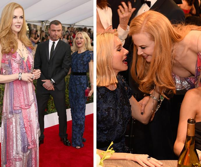 Aussie BFFs, Nicole Kidman and Naomi Watts hang out.