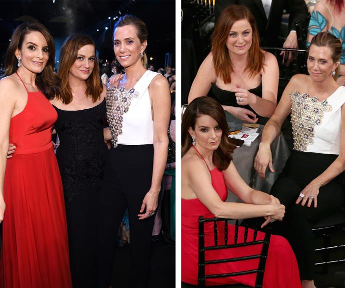 The *SNL* reunion we all crave: Tina Fey, Amy Poehler and Kristen Wiig are the ultimate gal gang!