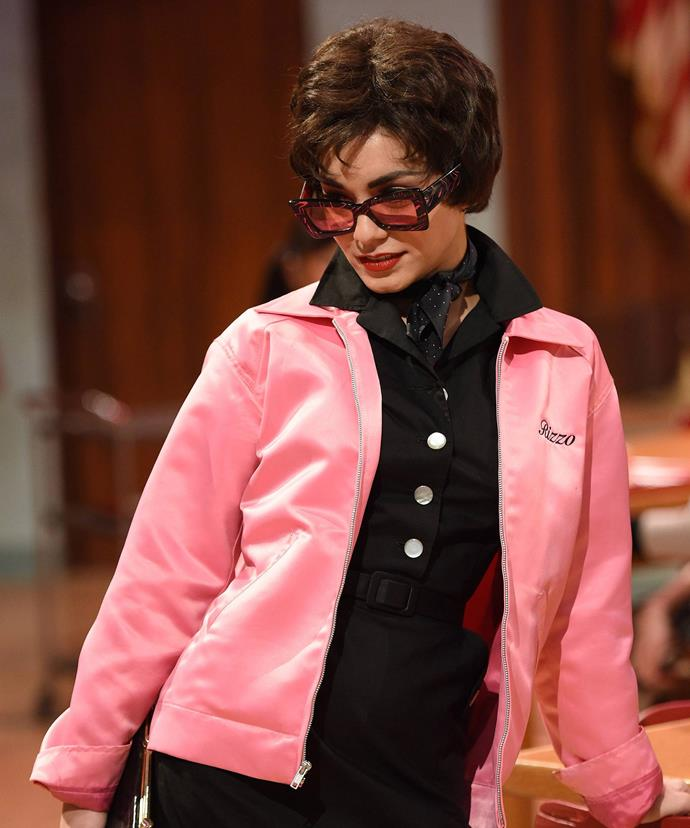 Just hours after her tragic loss, Vanessa delivered a flawless performed as Rizzo in *Grease*.
