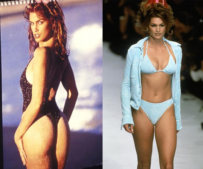 Two words: Those curves! Cindy's shapely, toned figure inspired a generation.