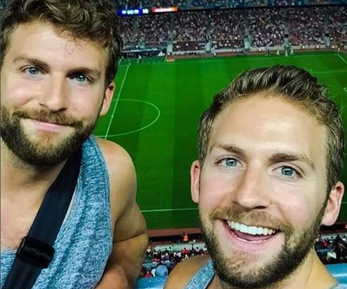 Bradley Cooper squared, could there be such a glorious thing?! Well, yes, there is! Thanks to some wonderful glitch in the matrix, American twins Matt and Scott Katzenbach look identical to the Hollywood heartthrob.