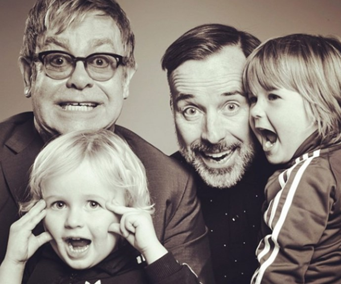 """They are the greatest thing in our lives. There's no words to describe how much we love these boys,"" Elton John explains of his sons Zachary, five, and Elijah, three, who he shares with husband David Furnish. Both boys were born through the same surrogate. ""Elton and David love this lady like a sister and they feel indebted to her for life,"" a source revealed."