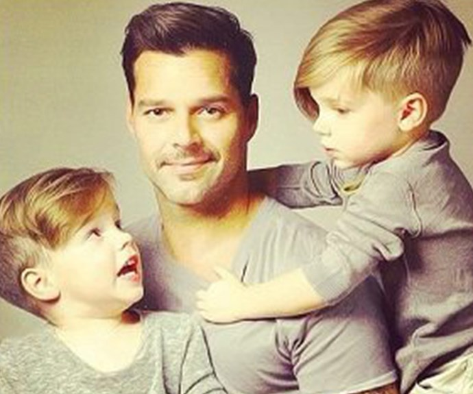 """I would give my life for the woman who helped me bring my sons into this world,"" Ricky Martin said of his surrogate, who gifted the star his two twin sons, Matteo and Valentino, in 2008."