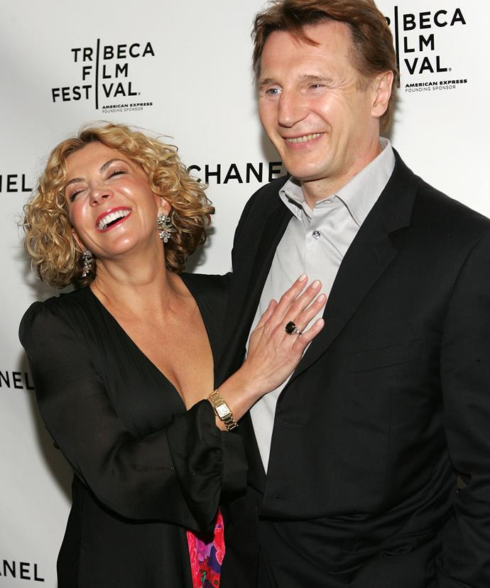 Liam's wife of 15 years, Natasha Richardson, died at the age of 45 in 2009.