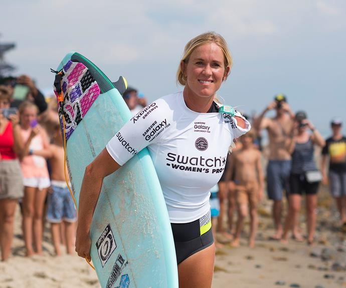 """The 26-year-old pro surfer is living proof you can achieve your wildest dreams. """"Whatever your situation might be, set your mind to whatever you want to do and put a good attitude in it, and I believe that you can succeed. You are not going to get anywhere just sitting on your butt and moping around."""""""