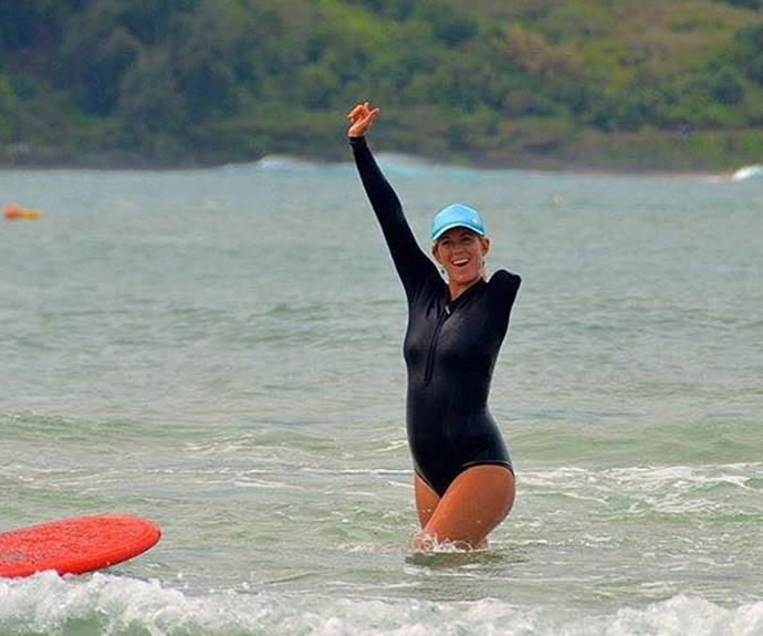 """""""Surfing for me is more than my lifestyle - it's my passion, my love, and it's a part of me,"""" she has mused."""
