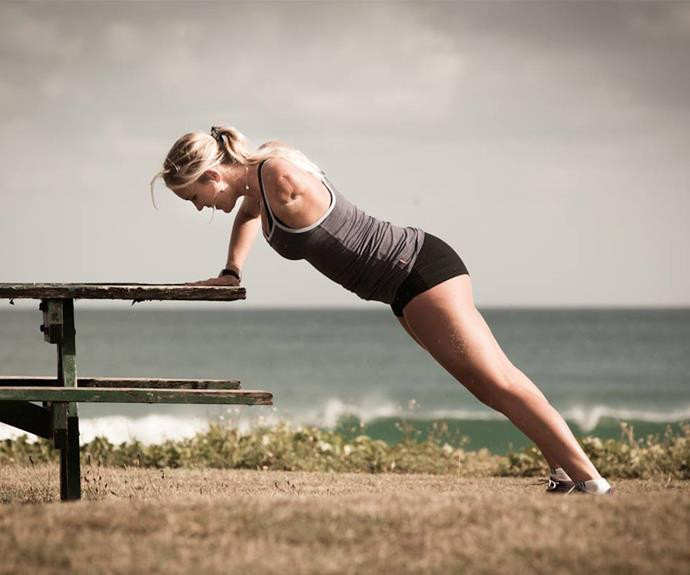 """""""My path is dedicated to living a healthy lifestyle! Being active, eating clean, and surfing keeps me feeling amazing. That feeling helps me to stay motivated even when I'm tired or my schedule is crazy,"""" she revealed of staying fit."""