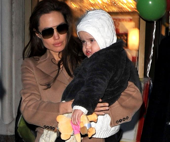 [Vivienne](http://www.womansday.com.au/celebrity/hollywood-stars/brad-pitt-and-angelina-jolie-take-out-vivienne-and-knox-14047) looks just like her Hollywood mum!