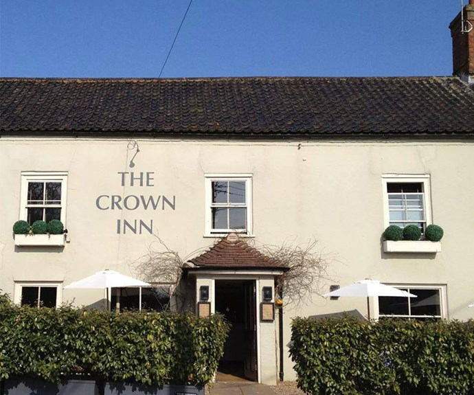 "The Crown Inn describes itself as an ""outstanding Norfolk Country pub/restaurant [which] combines  traditional period features with stunning modern-day comfort and luxury hotel accommodation."""