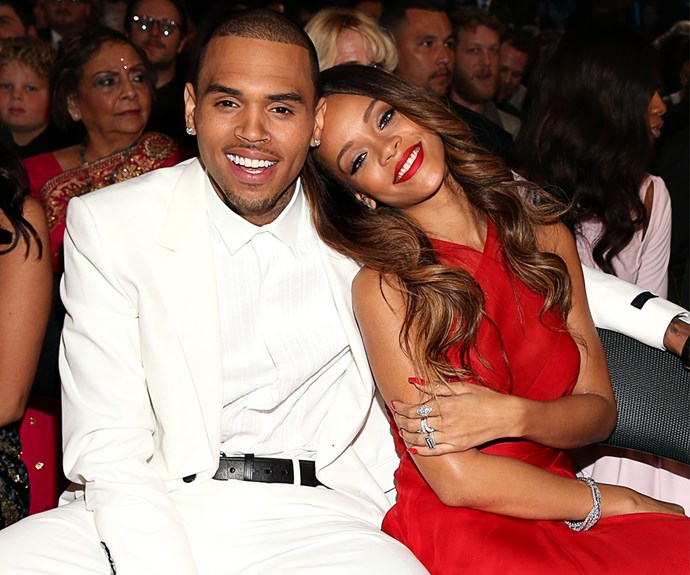 Four years after Chris Brown's horrific attack on Rihanna, the on-off lovebirds reunited at the 2013 Grammys while Rih Rih flashed what looked to be an engagement ring. Although their brief reunion quickly ended, their cosy dynamic in spite of their tumultuous history will forever be remembered.