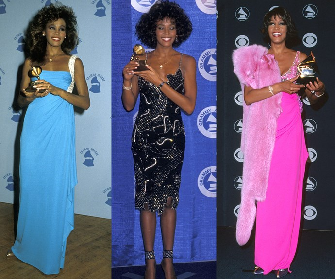 Over the years, the late Whitney Houston won a whopping seven Grammys and became an industry icon.