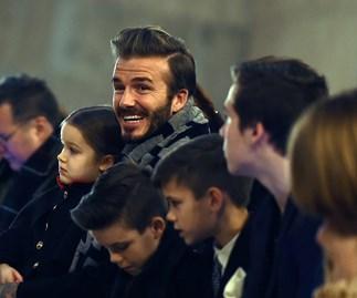 Beckhams New York Fashion Week
