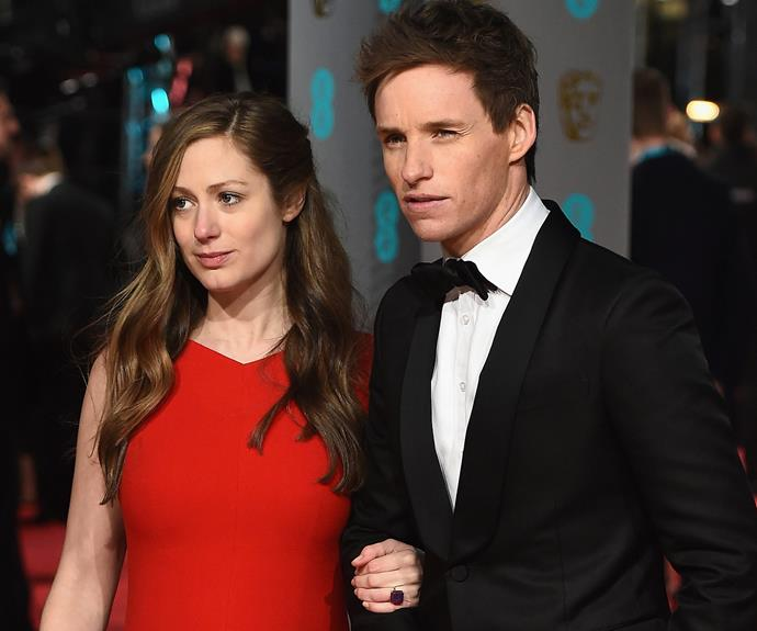 Eddie Redmayne was the perfect gentleman with his pregnant wife, Hannah.