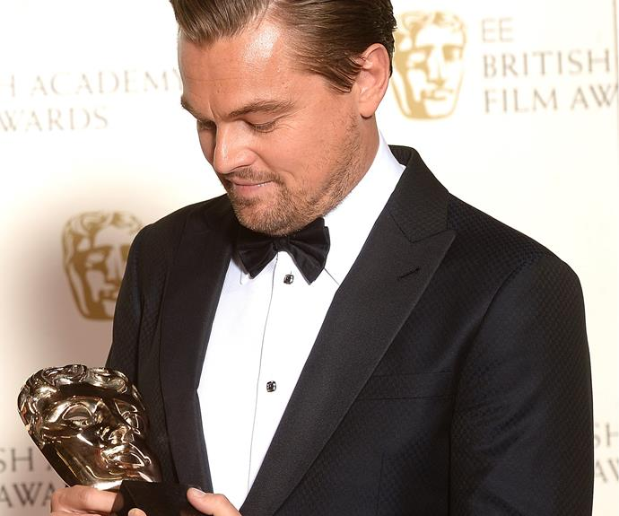 "While Leo wasn't with his red carpet BFF (Rose, we mean Kate Winslet), the actor did have his hands full with his award for Best Actor. Thanking his mum, Irmelin Indenbirken, he said, ""I didn't grow up in a life of privilege and this woman drove me three hours a day to a different school to show me a different opportunity. It's her birthday today. Mum, I love you very much."" Somebody give this man an Oscar already!"