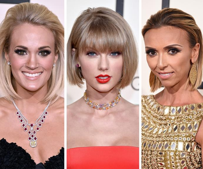Crop to it! Carrie, Taylor and Giuliana led the pack with their stylish bobs.