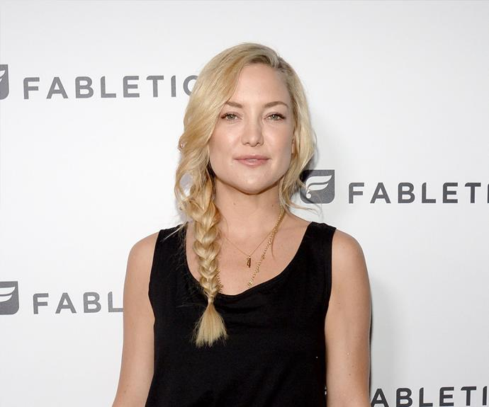 There's no easier braid than Kate Hudson's low side plait! Just pull some hair from your fringe loose, and throw in a curl to add an element of sophistication.