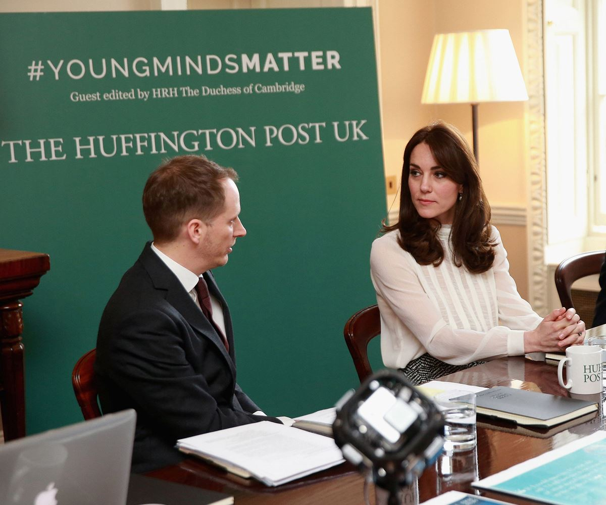 Duchess Catherine Guest Edits The Huffington Post UK