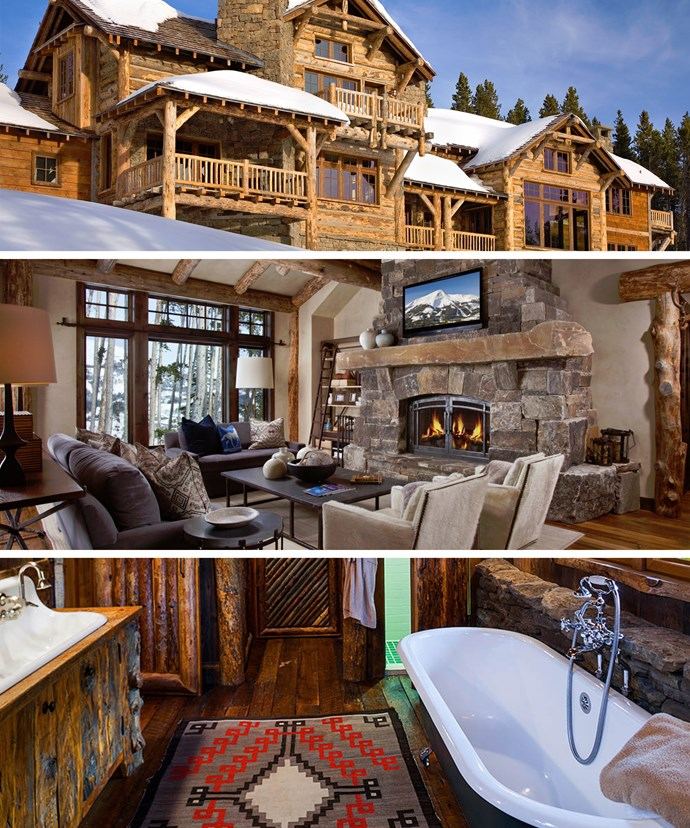 The luxury Montana accommodation is beloved by the rich and famous - and we can see why!