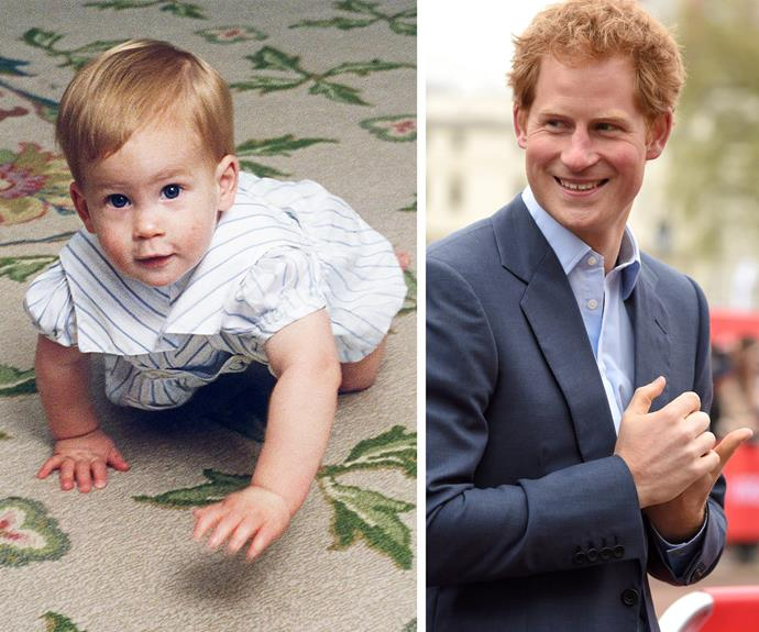 It's official, Prince Harry was born charming!