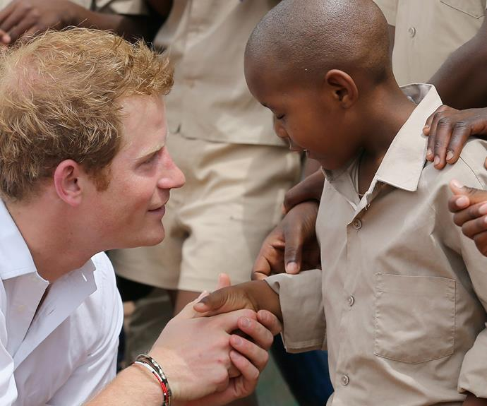 """Every day, I know I do and I'm sure William does as well, whatever we do, wherever we are and whoever we're with, I particularly always wonder what she'd think, what she'd be doing if she was with us now,' said Harry in 2010 during his tour of Africa."