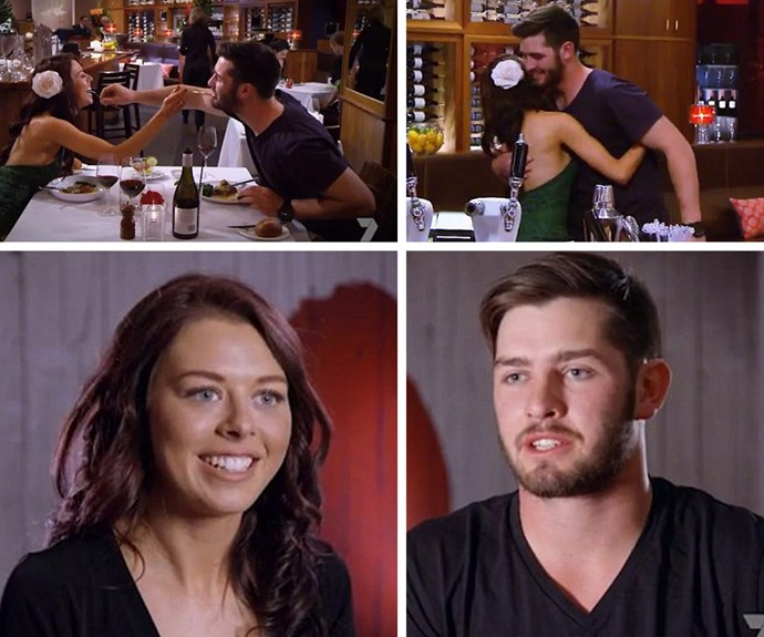 The pair, who met on Seven's reality show are still going strong five months later.