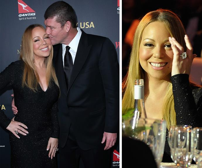[James popped the question to the American](http://www.womansday.com.au/celebrity/australian-celebrities/mariah-carey-is-engaged-to-james-packer-14546) songstress last month, while the pair were in New York.