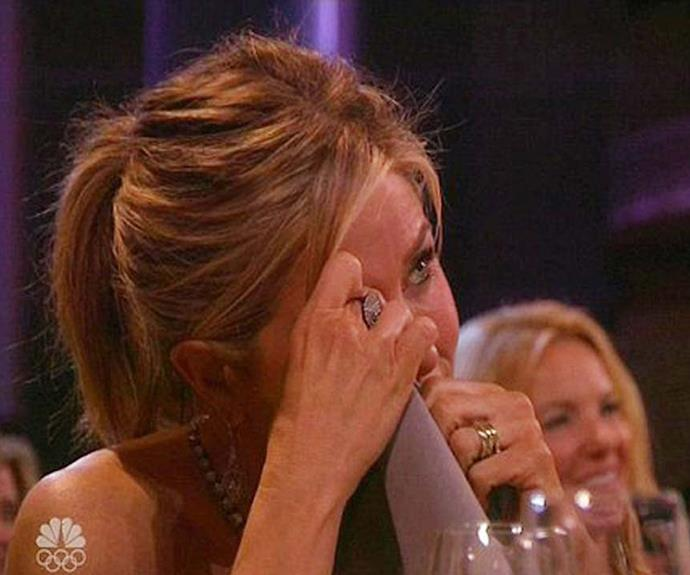 Jen got emotional as she relived her time on the show.