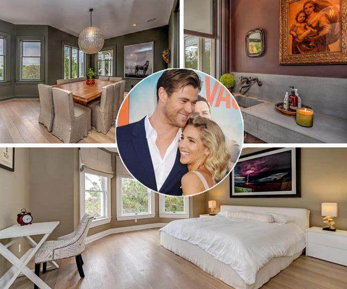 Following their big move back downunder, Chris Hemsworth and wife Elsa Pataky have listed their luxurious Malibu mansion for US $6.5 million.