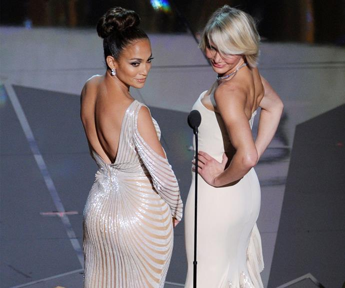 JLo and Cameron Diaz broght the booty back in 2012.
