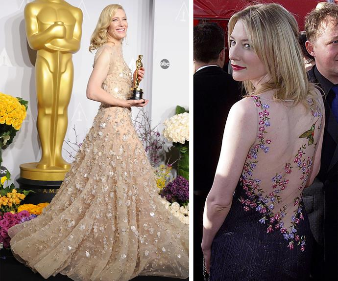 An Aussie dream: Our very own Cate Blanchett is always a vision!