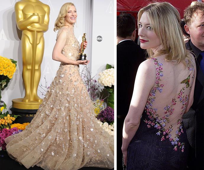 An Aussie dream: Our very own Cate Blanchett is always a vision!